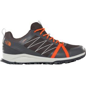 The North Face Litewave Fastpack II GTX Shoes Men ebony grey/scarlet ibis